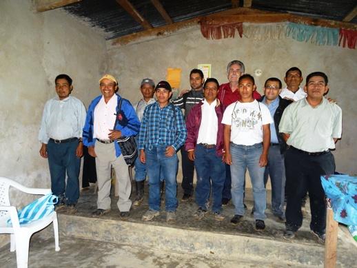leaders at seminar in Tasharte