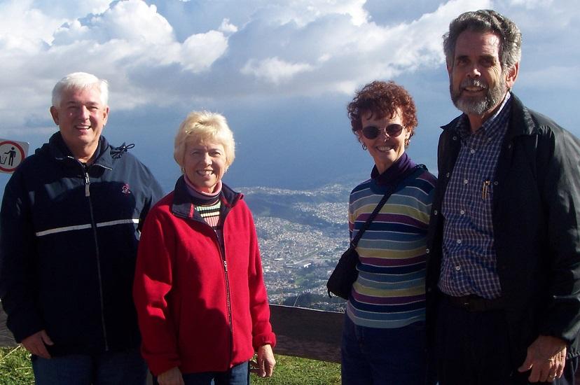 Quito memories with Bob and Ridglae