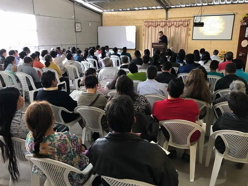 Preaching in Pilanqui