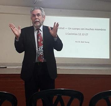 preaching in Bogota