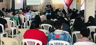 a seminar in Ecuador